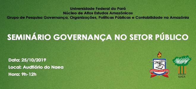 Seminário Governança no setor público